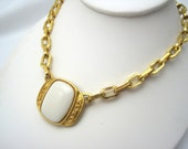 Vintage Yves Saint Laurent Necklace - Haute Couture Costume Jewelry