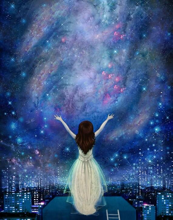 Reach For The Stars 11X14 empowerment inner strength