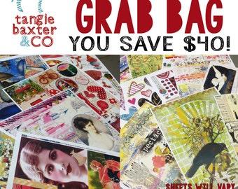 SALE! Grab Bag--20 Collage Sheets