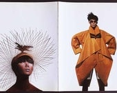Irving Penn 1988 Issey Miyake High Fashion Art Plates 45 46 Original First Impression