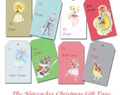 Nutcracker Gift Tags - PDF - Instant Download