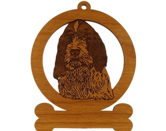 Spinone Italiano (Head) Dog Ornament 084013 Personalized With Your Dog's Name