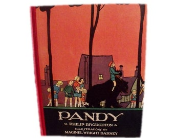 Pandy - Volland Books - il. by Maginel Wright Barney - 1930 in original box - Excellent condition