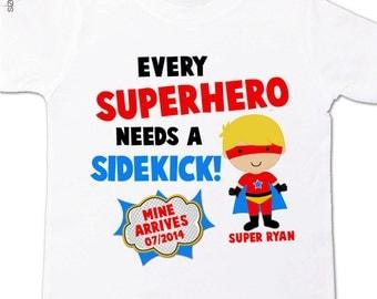 superhero big brother shirt  big brother to be comic every superhero needs a sidekick pregnancy announcement