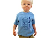 Future Doctor- Doctor Who Toddler Tee- Pick Your Size