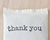 Thank You Gift Balsam Sachet, Wedding Party Favours, Bridal Shower Favors