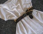 Peruvian Style Poncho and  Handmade Belt
