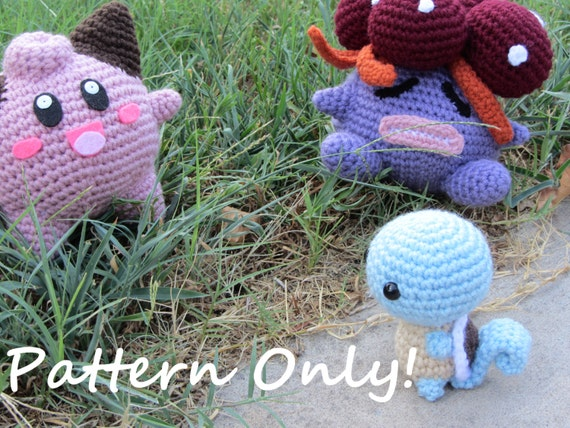 Crochet Patterns Pokemon : Crochet Patterns Knitting Patterns