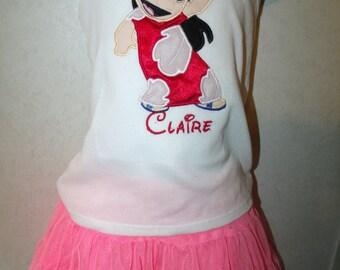 Lilo Hawaii Hawaiian Girl Embroidered Onesie or Shirt or tank