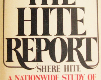 vintage The Hite Report