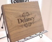 Personalized Cutting Board Engraved Wood Gift Hostess First Christmas Wedding Gift Under 30 (Item Number 140385) NEW LISTING