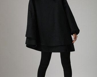 Black tunic dress | Etsy