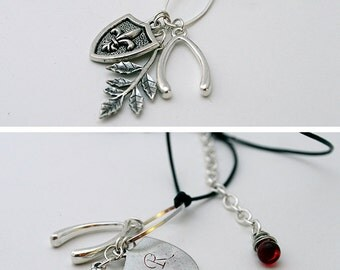 READY TO SHIP* Ruby 2.0 Necklace from Supernatural