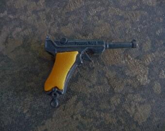 RUGER Gun Metal Police Pistol Fun Charm Gun Pendant Piece