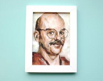 David Cross / Tobias Fünke - 8x10 5x7 11x14 Print - Arrested Development Acrylic Portarit Painting
