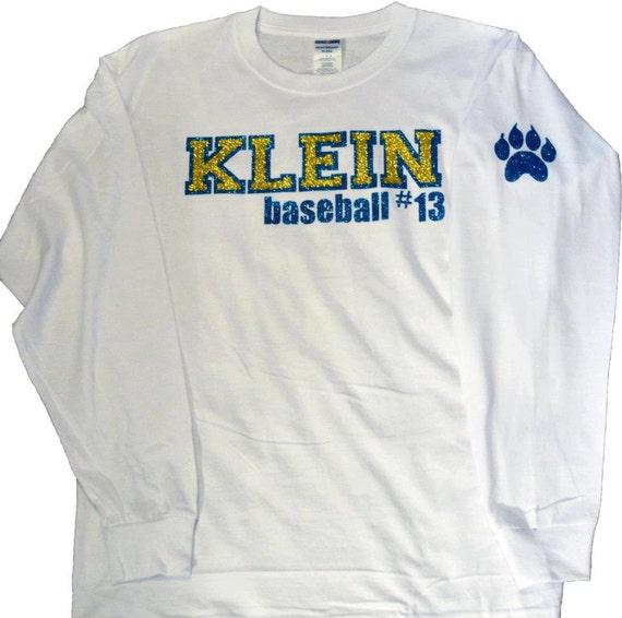 Custom Glitter Long Sleeve Shirt