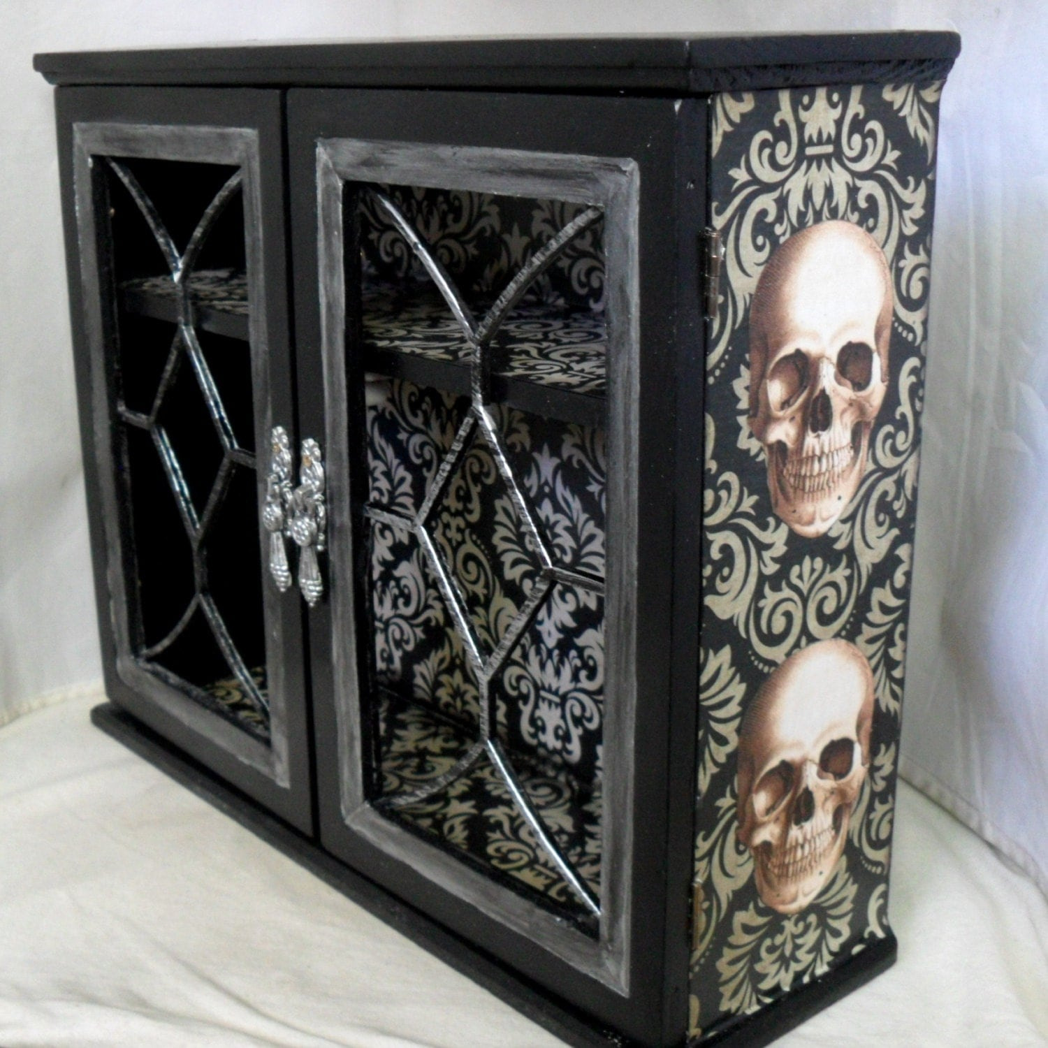 Gothic Home Decor Gothic Cabinet Reserved For Sarah Becker