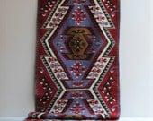 Vintage Yahyali Kilim Kelim Runner Rug / 6' x 2'