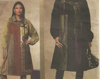 Vogue 1146 // Designer Sewing Pattern By Koos Van Den Akker // Coat // Sizes 8 10 12 14
