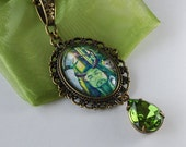 Herne the Hunter Necklace - Green Man Necklace - Mythical Necklace - Woodland Charm