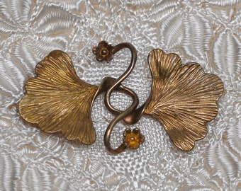 Art-Nouveau Style Interlocking Clasp for up to 4 Strand Necklaces