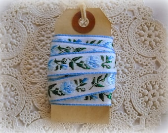 Blue Tulip Vintage Ribbon Trim