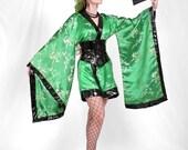 Fantasy Cosplay Costume - Cyber Goth Kimono