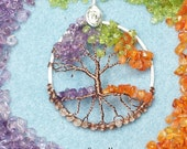 Four Seasons Tree of Life Pendant Made to Order