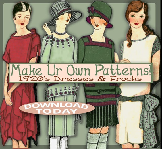 Patterns and more great gatsby downton abbey style pdf e booklet
