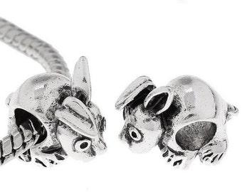 Bunny Beads - European Style Big Hole - Rabbit