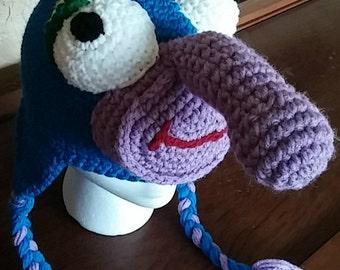Crochet Gonzo Hat