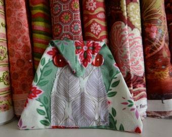 Lavender Pink Owl Lucky Keepsake Doll Mascot