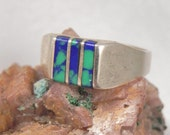 Azure Sterling Ring
