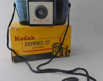 Vintage Kodak Brownie Camera 127