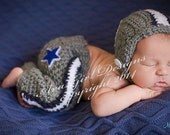 Dallas Cowboy baby clothes, Dallas Cowboys baby hat, Cowboys football helmet pant set, Dallas Cowboys baby boy, baby Dallas Cowboys