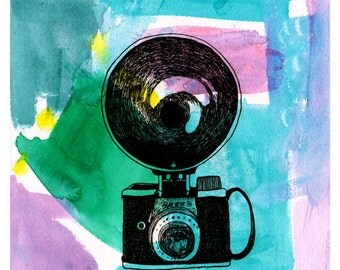 Ansco Camera (Limited Edition PRINT)