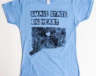 "Small State | ""Small State Big Heart™"" Tee"