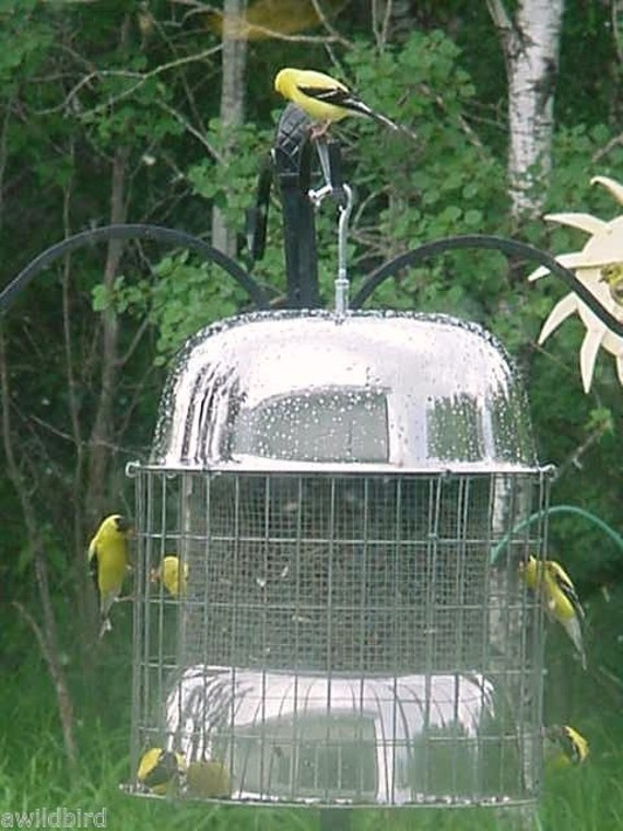 Squirrel Proof XL Stainless Steel Bird Feeder