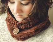 KNITTING PATTERN for Cowl for girls and women