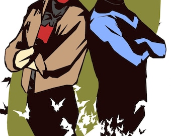 Red Hood and Nightwing