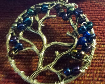 TREE OF LIFE Necklace 24'inch chain