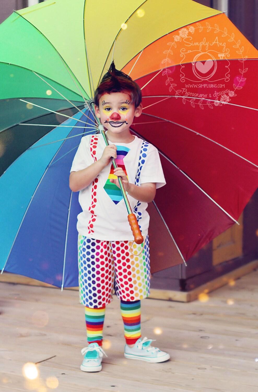 Boys Clown Carnival Costume-Clown outfit Clown Birthday Baby