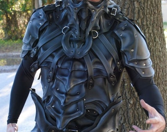 Midnight Dragon Slayer's Lower Half Mask