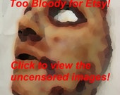 Krystal -Skinned Horror Face Mask
