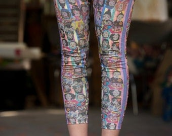 Sarah Beetson Digital Print Leggings - Sarah Metamorphosis Print