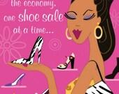Shoe Sale - Cross stitch pattern pdf format