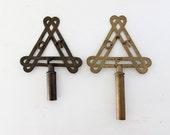 antique brass finials, masonic lodge decor