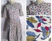 Layaway 1  for Chelsea--dont buy unless you're chelsea-1960s Dress, 60s Dress, 50s Day Dress XS Waist 24, Shirtwaist Dress, Rockabilly Pinup