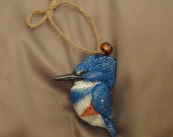Kingston; the Belted Kingfisher Ornament