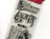 Cling Mounted Rubber Stamps from Graphic 45 - Twas the Night Before Christmas 1 - New Release